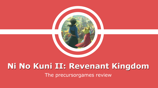 Ni no kuni 2 review title